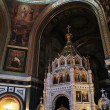 Stock Photo: Interior of temple of Christ of Savior, Moscow, Russia