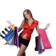 Paying in shopping — Stock Photo #4052892
