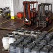 Two forklifts — Stock Photo