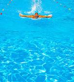 Sportler-schwimmer — Stockfoto