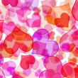 图库照片: Hearts background