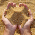 sabbia — Foto Stock