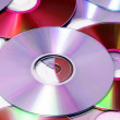 CD, CD-ROM and DVD — Stock Photo #4020486