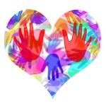Hands heart — Stock Photo