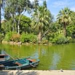 Lake of Parc de la Ciutadella, in Barcelona, Spain — Stock Photo #4034060