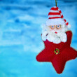 Royalty-Free Stock Photo: Santa claus star