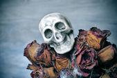 Halloween bouquet — Stock Photo
