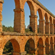 Stock Photo: Romaqueduct in Tarragona, Spain