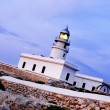 Stock Photo: View of Cavalleribeacon in Menorca, Balearic Islands, Spain