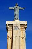 Monument in the top of El Toro, Menorca, Balearic Islands, Spain — Stock Photo