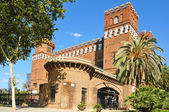 Zoology museum, in Parc de la Ciutadella, Barcelona, Spain — Stock Photo