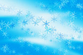 Snowflakes background — Stock fotografie
