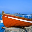 A boat in Portlligat, Cadaques, Spain — Stock Photo
