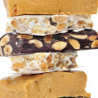 Turron, typical Christmas sweet of Spain - Stock Photo
