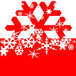 Snowflakes background — Stock Photo #4427949