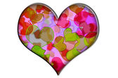 Heart colors — Stock Photo