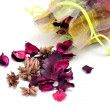 Stock Photo: Potpourri sachet
