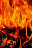 Fire flames — Stockfoto