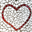 Mosaic heart — Stock Photo