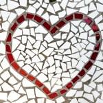 Mosaic heart — Stock Photo #4527498