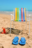 Sommer am strand — Stockfoto