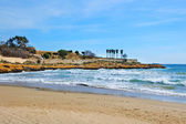A view of Miracle beach in Tarragona, Spain — Stock Photo