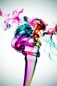 Smoke of many colors — Stock Photo