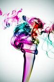 Smoke of many colors — Stock Photo