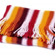 Striped Scarf — Stock Photo