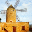 Typical windmill in Mallorca, Balearic Islands, Spain — Stock Photo