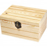 Leather box — Stock Photo