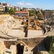 Roman amphitheater in Tarragona, Spain — Stock Photo