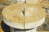 Stone sundial — Stock Photo