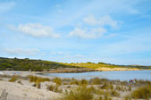 Detail of Son Parc beach in Menorca, Balearic Islands, Spain — Stock Photo