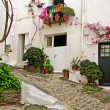 A street of Cadaques, Spain — Stock Photo #4787978