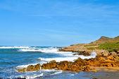 View of Binimela beach in Menorca, Balearic Islands, Spain — Stock Photo