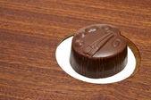 Chocolate palette — Stock Photo