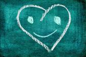 Roliga hjärta — Stockfoto