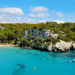View of Macarellbeach in Menorca, Balearic Islands, Spain — Stock Photo #4909998