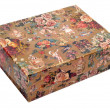 Patterned gift box — Stock Photo