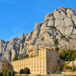 Abbey of Santa Maria de Montserrat, Spain — Stock Photo