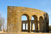 Mirador dels apostols in montserrat, spanien — Stockfoto