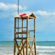 Lifeguard tower — Stock Photo #5016208