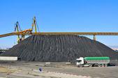 Kömür sanayi — Stok fotoğraf