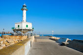 An old lighthouse restored, in Tarragona, Spain — Stock Photo