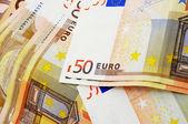Euro bills — Stock Photo