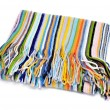 Stock Photo: Striped scarf