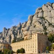 Abbey of Santa Maria de Montserrat, Spain — Stock Photo #5106401