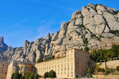 Abbey of Santa Maria de Montserrat, Spain — 图库照片