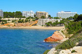 Capellans Beach, Salou, Spain — Stock Photo